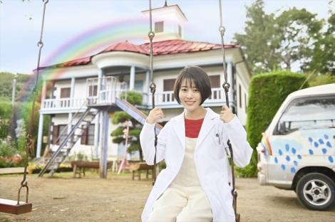 2021年1月期のテレビ朝日系木曜ドラマ『にじいろカルテ』主演の高畑充希 (C)テレビ朝日