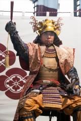 大河ドラマ『麒麟がくる』第33回(11月22日放送)より。朝倉義景(ユースケ・サンタマリア) (C)NHK