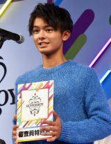 『第33回ジュノン・スーパーボーイ・コンテスト』審査員特別賞の伊藤佑晟さん
