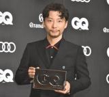 『GQ MEN OF THE YEAR 2020』のフォトコールに登場した星野源 (C)ORICON NewS inc.