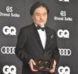 『GQ MEN OF THE YEAR 2020』のフォトコールに登場した黒沢清監督 (C)ORICON NewS inc.