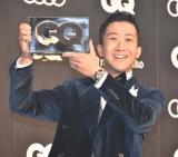 『GQ MEN OF THE YEAR 2020』のフォトコールに登場した瑛人 (C)ORICON NewS inc.