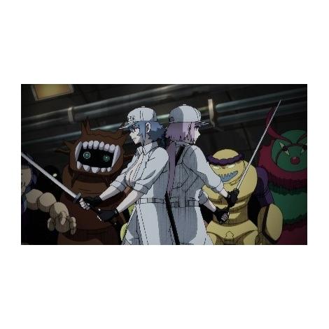 テレビアニメ『はたらく細胞BLACK』の場面カット
