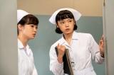 連続テレビ小説『エール』看護の仕事に就いた古山華(古川琴音)(C)NHK