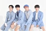 1stアルバム『The STAR』を発売したJO1(左から)豆原一成、佐藤景瑚、川西拓実、木全翔也(C)ORICON NewS inc.