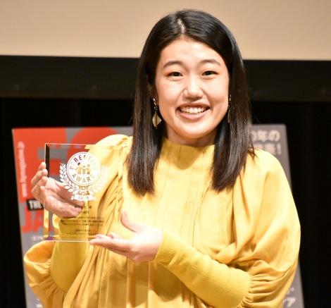 「ママ部門」で受賞した横澤夏子=『第13回ペアレンティングアワード』  (C)ORICON NewS inc.