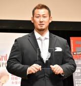「スポーツ部門」で受賞した中田翔=『第13回ペアレンティングアワード』 (C)ORICON NewS inc.