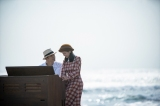 連続テレビ小説『エール』第119回より。今年10月上旬に豊橋の海で撮影されたラストシークエンス(C)NHK