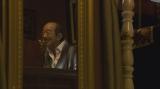 連続テレビ小説『エール』第119回より。小山田耕三役の志村けんさん初出しカット(C)NHK