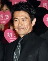 映画『初恋』ジャパンプレミアイベントに登壇した内野聖陽 (C)ORICON NewS inc.