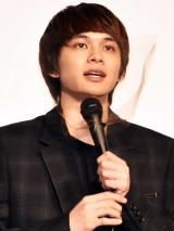 映画『アンダードッグ』公開記念舞台あいさつに出席した北村匠海 (C)ORICON NewS inc.