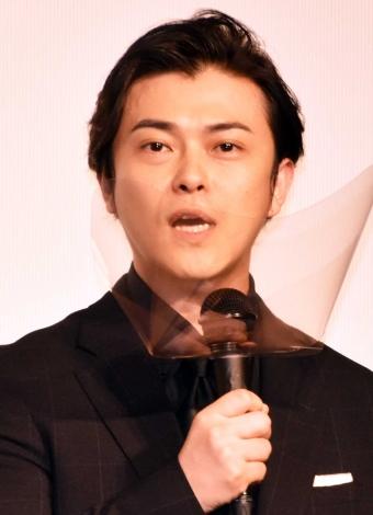 映画『アンダードッグ』公開記念舞台あいさつに出席した勝地涼 (C)ORICON NewS inc.