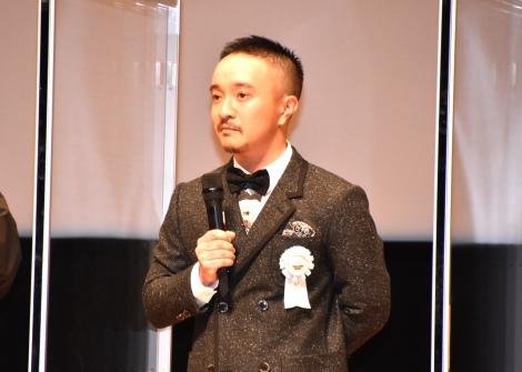 『第12回TAMA映画賞』の授賞式に登壇した濱田岳