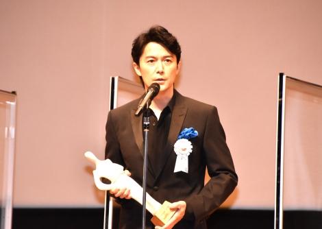 『第12回TAMA映画賞』の授賞式に登壇した福山雅治