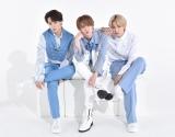 1stアルバム『The STAR』を発売したJO1(左から)鶴房汐恩、白岩瑠姫、大平祥生 (C)ORICON NewS inc.
