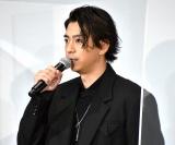 映画『天外者』完成披露試写会舞台あいさつに登壇した三浦翔平 (C)ORICON NewS inc.