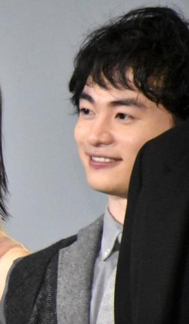 映画『天外者』完成披露試写会舞台あいさつに登壇した森永悠希 (C)ORICON NewS inc.