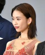 映画『天外者』完成披露試写会舞台あいさつに登壇した森川葵 (C)ORICON NewS inc.