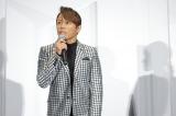 映画『天外者』完成披露試写会舞台あいさつに登壇した西川貴教