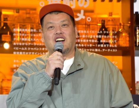 本格焼酎3社×BEAMS JAPAN『焼酎のススメ。2020』発表会に出席した野性爆弾・くっきー! (C)ORICON NewS inc.