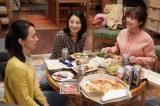 『姉ちゃんの恋人』第6話より(左から)紺野まひる、小池栄子、有村架純 (C)カンテレ