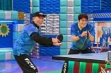 『夢対決2021 とんねるずのスポーツ王は俺だ!!』2021年1月2日放送。卓球対決の模様 (C)テレビ朝日