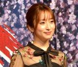 2021年2・3月帝国劇場公演『Endless SHOCK-Eternal-』製作発表に出席した梅田彩佳 (C)ORICON NewS inc.