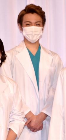 舞台『ドクター・ブルー 〜いのちの距離〜』の製作発表会見に出席した室龍太 (C)ORICON NewS inc.