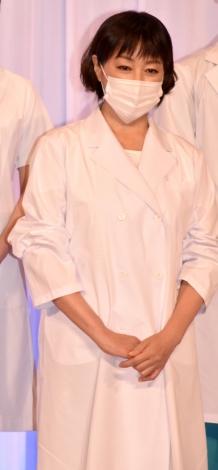 舞台『ドクター・ブルー 〜いのちの距離〜』の製作発表会見に出席した高島礼子 (C)ORICON NewS inc.