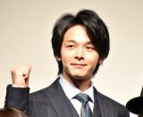 映画『サイレント・トーキョー』公開直前渋谷ジャックイベントに出席した中村倫也 (C)ORICON NewS inc.