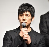 映画『サイレント・トーキョー』公開直前渋谷ジャックイベントに出席した西島秀俊 (C)ORICON NewS inc.