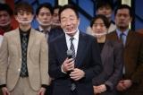 『よしもと漫才劇場』6周年記念会見に出席した中田カウス