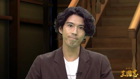 映画『新解釈・三國志』公開記念新解釈バーチャル生配信イベントに出席した大泉洋