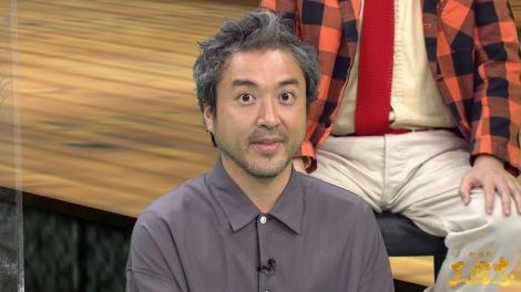 映画『新解釈・三國志』公開記念新解釈バーチャル生配信イベントに出席したムロツヨシ