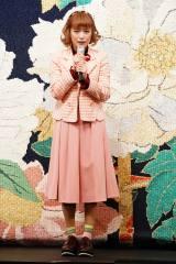 舞台『両国花錦闘士』公開ゲネプロに参加した大原櫻子 撮影:田中亜紀