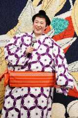 舞台『両国花錦闘士』公開ゲネプロに参加した大鶴佐助 撮影:田中亜紀