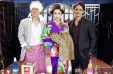 『極主夫道』第9話に出演する滝藤賢一、水野美紀、玉木宏 (C)日本テレビ