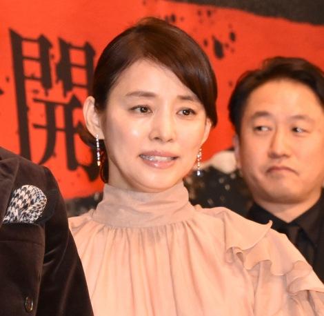 映画『サイレント・トーキョー』の初日舞台あいさつに出席した石田ゆり子 (C)ORICON NewS inc.
