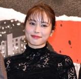 映画『サイレント・トーキョー』の初日舞台あいさつに出席した広瀬アリス (C)ORICON NewS inc.