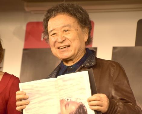 写真集『AKI MIZUSAWA 1975-2020』出版記念イベントに登壇した篠山紀信 (C)ORICON NewS inc.