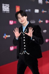 『2020 Mnet ASIAN MUSIC AWARDS』フォトウォールに登場したTAEMIN(C) CJ ENM Co., Ltd, All Rights Reserved.