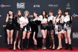 『2020 Mnet ASIAN MUSIC AWARDS』フォトウォールに登場したTWICE(C) CJ ENM Co., Ltd, All Rights Reserved.
