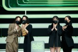 『2020 Mnet ASIAN MUSIC AWARDS』に登場したMAMAMOO(C) CJ ENM Co., Ltd, All Rights Reserved.ルパフォーマンス賞