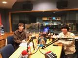 ラジオで共演(左から)Hey! Say! JUMP薮宏太、Wacci橋口洋平