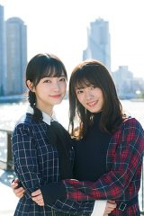 『少年サンデー』表紙を飾る櫻坂46(左から)大園玲、田村保乃