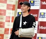 左肩腱板断裂手術後の経過を明かした白川裕二郎 (C)ORICON NewS inc.