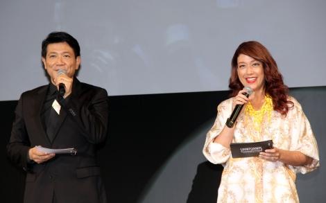 アジア最大級の国際短編映画祭『ショートショートフィルムフェスティバル&アジア』のオープニングセレモニーに出席した(左から)別所哲也、LiLiCo (C)ORICON NewS inc.