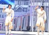 舞台『DREAM BOYS』囲み取材に出席したKing & Prince(左から)神宮寺勇太、岸優太 (C)ORICON NewS inc.