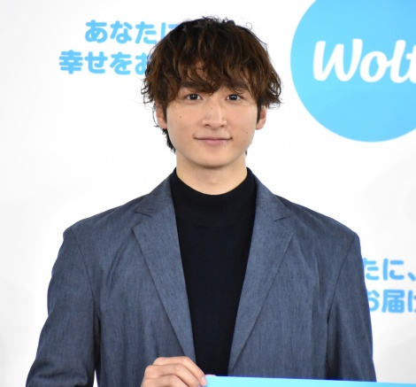 『Wolt Blue Santa Special』開始記念PRイベントに出席した小関裕太(C)ORICON NewS inc.