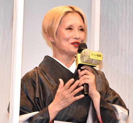 映画『大コメ騒動』のプレミア試写会に出席した夏木マリ (C)ORICON NewS inc.